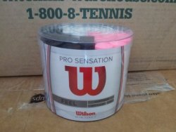 link to Wilson Pro Overgrip Sensation 100 Count Bucket - $710 缺貨