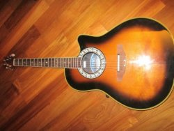 link to Ovation Cut away design Acoustic/electric guitar Model 1528