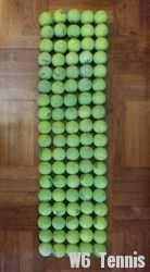 link to Used tennis ball with 90 pcs selling at $1@