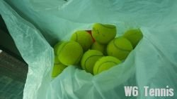 link to used tennis balls in working condition