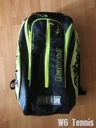 link to Babolat Pure Black/Fluo Yellow Backpack Bag
