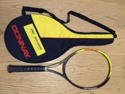 link to FS : Yellow Blue 1990 Donnay Pro-One, Andre Agassi racket