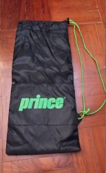 link to Prince Drawstring Bag with Zipper Compartment(New)