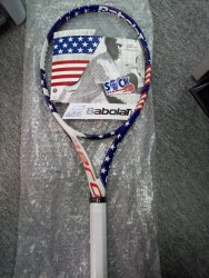 link to Babolat Pure Aero Stars & Stripes - brand new