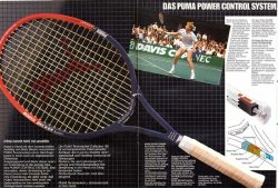link to Puma Boris Becker Super with PCS (1984) L3, Made in Taiwan, with cover, $900