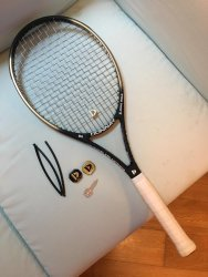 link to Donnay gold 94 grip2 with weight kit