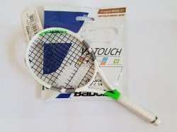link to Babolat Mini Strike Wimbledon Racket - $206