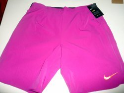 link to NIKE Gladiator 9 inches Premier Men's Tennis Shorts Purple