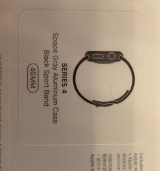 link to Iwatch 4 40mm black $3000 (brand new)