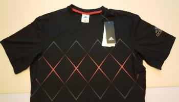 link to FS Adidas Barricade Tennis Tee Size M New