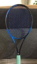 link to Head Graphene Speed MP, limited blue edition. Grip 3
