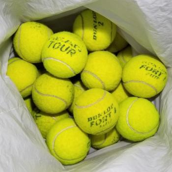 link to 20 used tennis balls