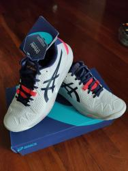 link to Brand New Asics Gel Resolution 8 White/Navy Women's Shoes