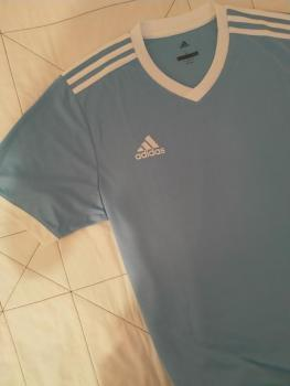 link to 100% new adidas Tabela 18 Jersey - Clear Blue/White