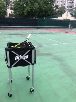 link to Prince Tennis Ball Basket Cart with 4 wheels - 網球籃