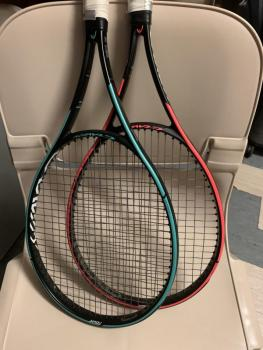 link to Selling two Head Gravity Tour Racquets (80% used)