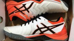 link to Asics Gel Resolution 7 Clay White/Koi/Black Men's Shoes