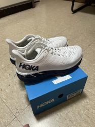 link to HOKA ONE ONE Clifton 7 Men's Shoes US10 新色白藍黃