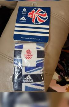 link to New and Rare Adidas UK Olympics wristband