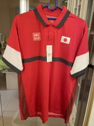 link to 全新Uniqlo NK DRY EX Polo Tennis Outfit size L 網球衫 2021奧運日本錦織圭限量版Japan team